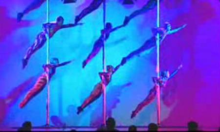 Chinese Pole Acrobats